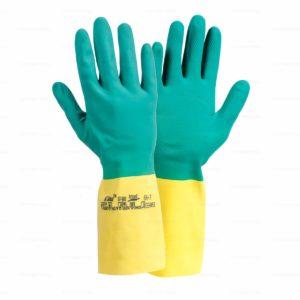 Rękawice chemoodporne Ansell Bi-Colour