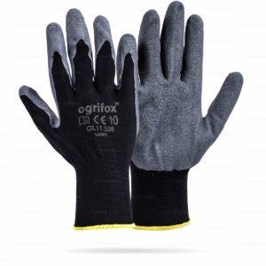 Rękawice ochronne ogrifox OX-LATEKS